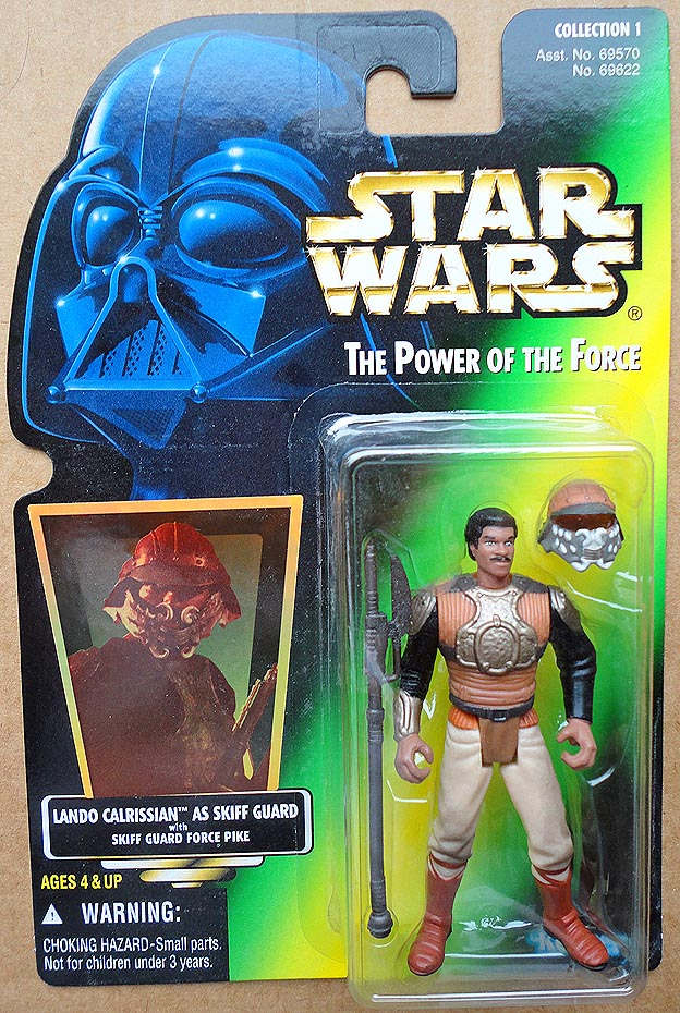 Star Wars POTFCollection 1 Lando Calrissian As Skiff Guard