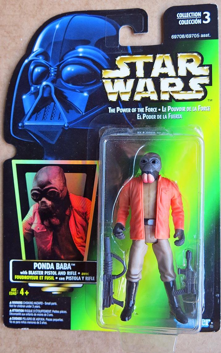 - - STAR WARS Collection 3 LE POUVOIR DE LA FORCE 1996 Ponda Baba - -