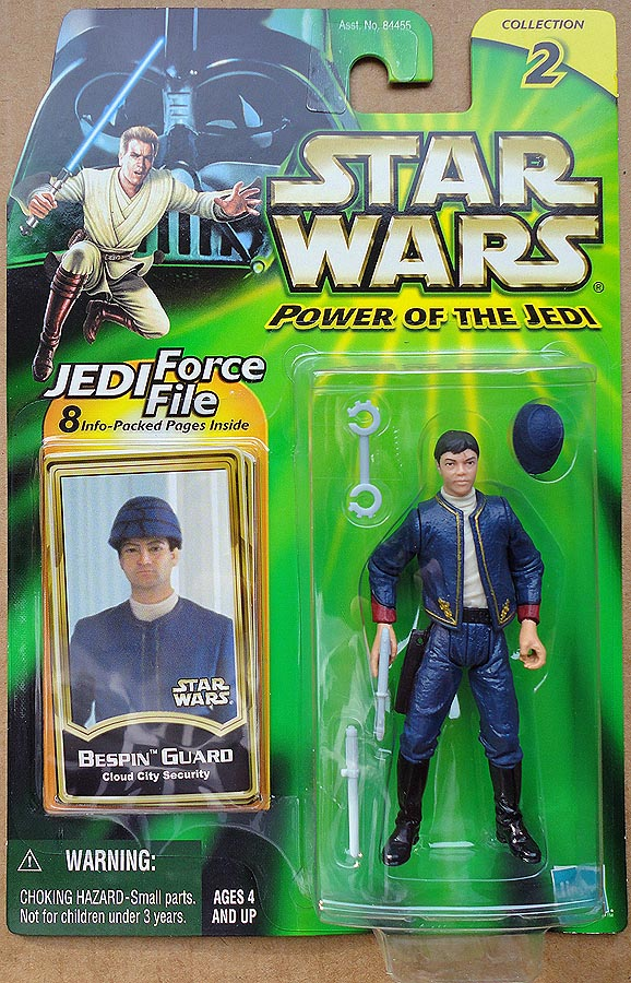 Star Wars POTJCollection 2 (Jedi Force File) Bespin Guard