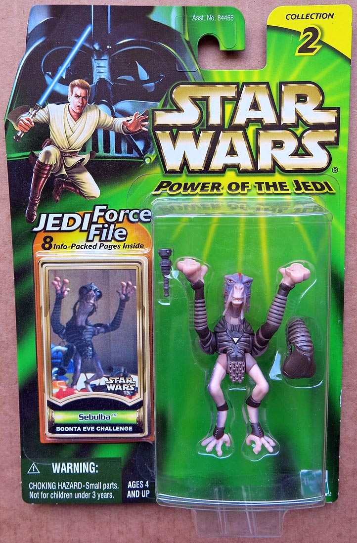 Star Wars POTJCollection 2 (Jedi Force File) Sebulba