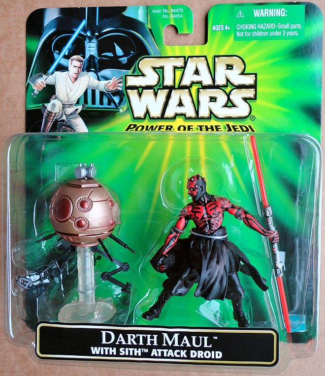 Star Wars POTJDeluxe Darth Maul With Sith Attack Droid
