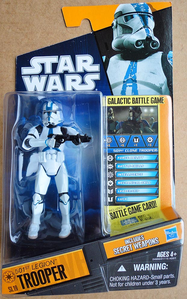 Star Wars Saga Legends 501 st Legion Trooper (SL 19 )