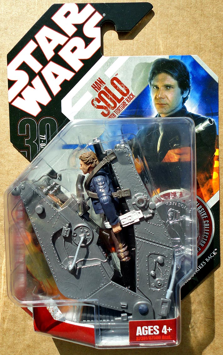 Star Wars The Empire Strikes Back With Coin Han Solo With Torture Rack 38