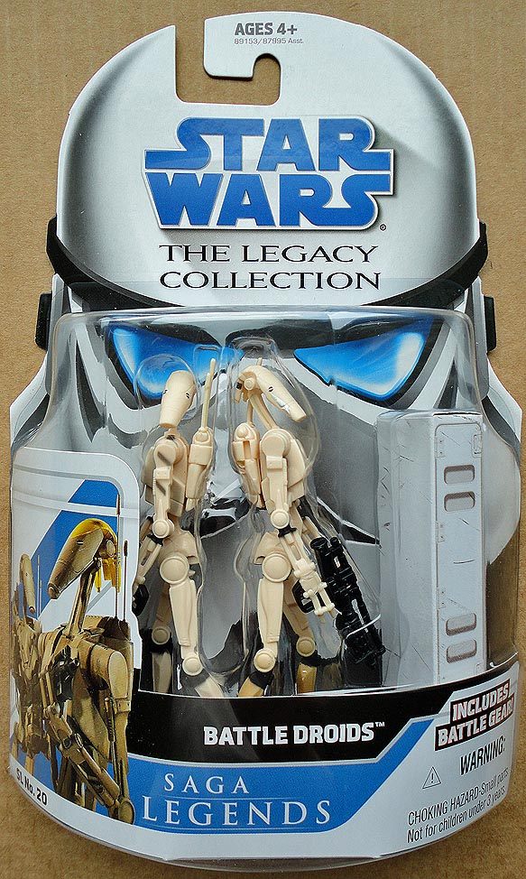 Star Wars The Legacy Collection Saga Legends Battle Droids