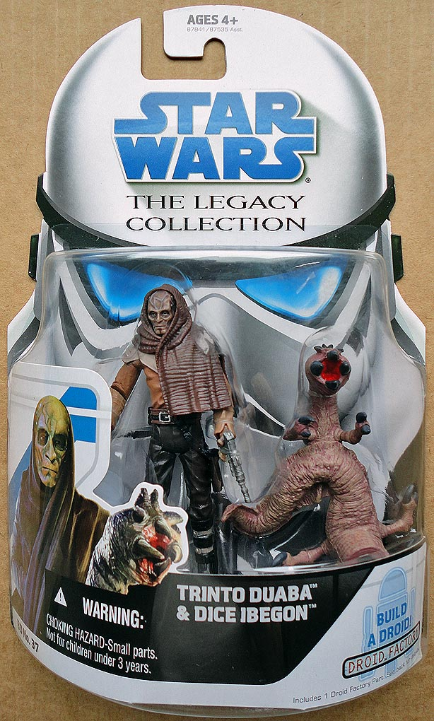 Star Wars The Legacy Collection Trinto Duaba&Dice Ibegon