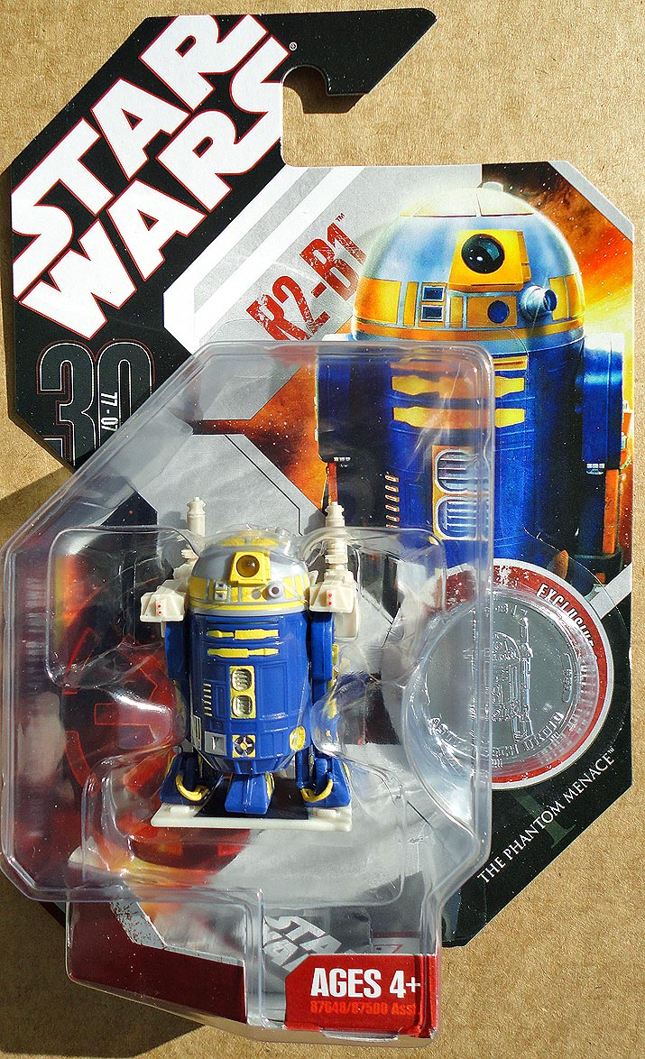 Star Wars The Phantom Menace With Coin R 2 -B 151