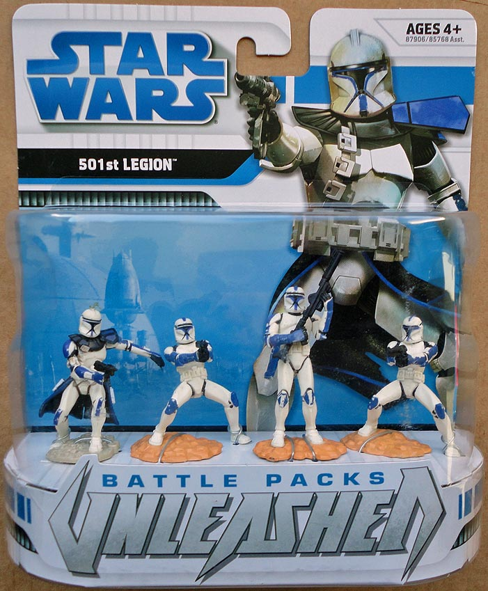 Star Wars Unleashed Battle Packs 501 st Legion