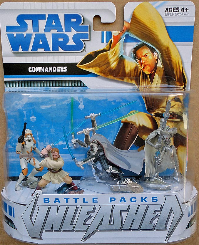 Star Wars Unleashed Battle Packs Commanders