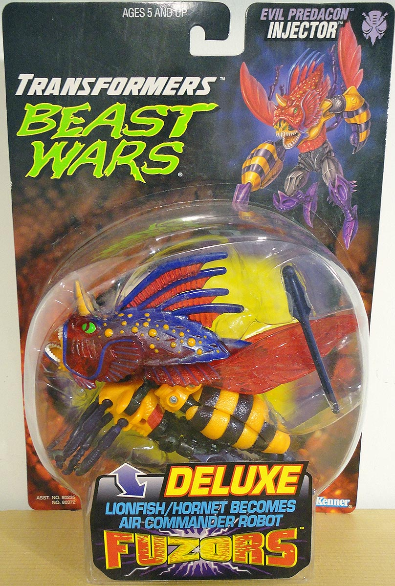 Transformers Beast Wars Evil Predacon Injector