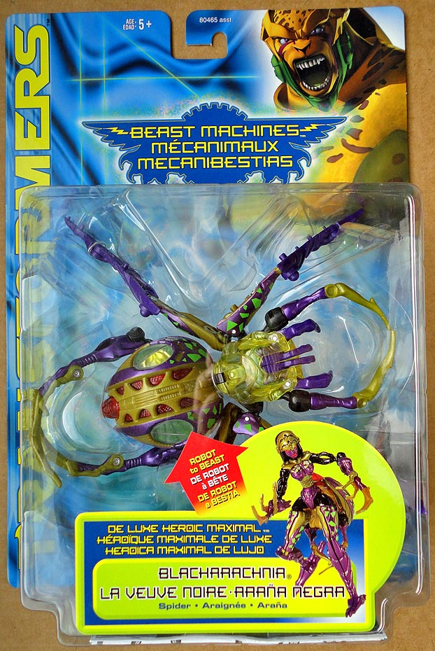 Transformers Deluxe Beast Machines Blacharachnia