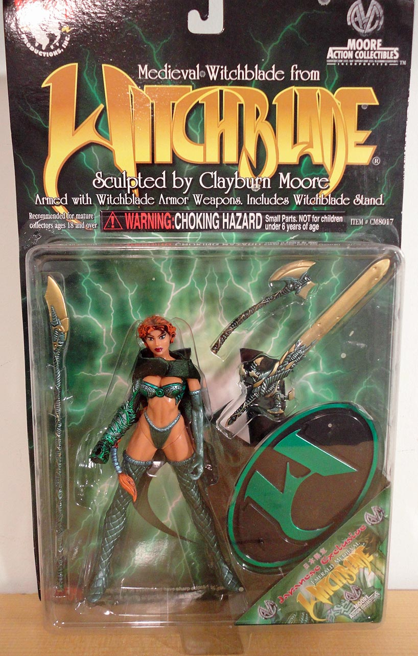Witchblade JAExcl Emerald Medieval Witchblade