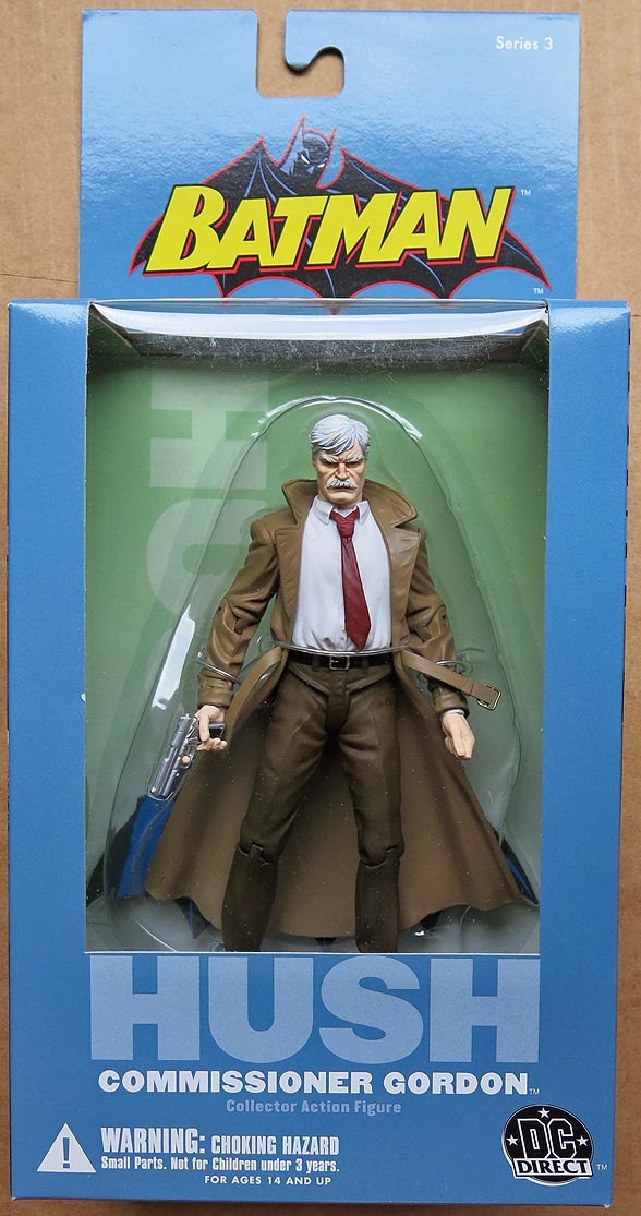 Batman Hush Series 3 Commissioner Gordon