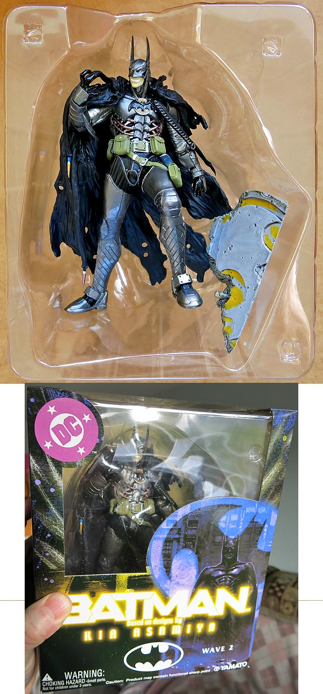 Batman Kia Asamiya Series 2 Evil Batman