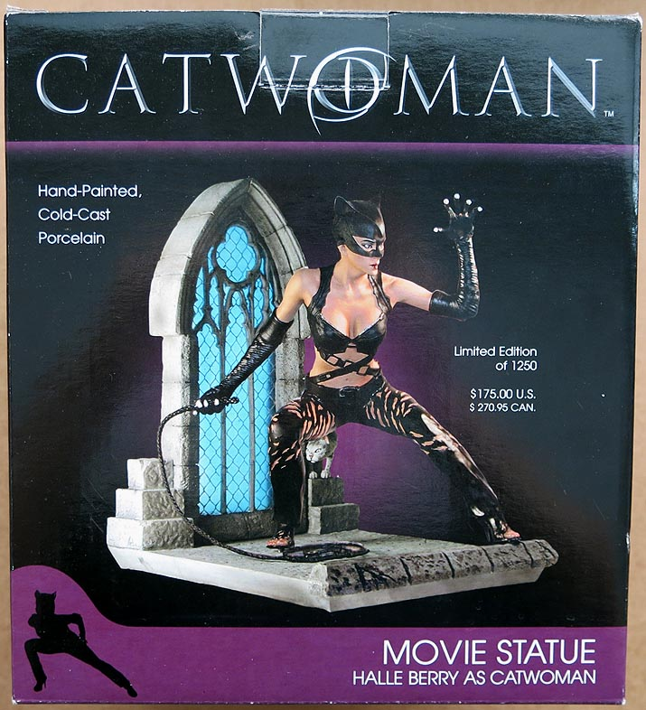 Catwoman Halle Berry As Catwoman Statue