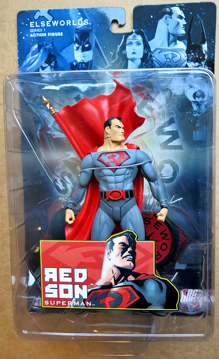 DC Direct Elseworlds Series 1 Red Son Superman