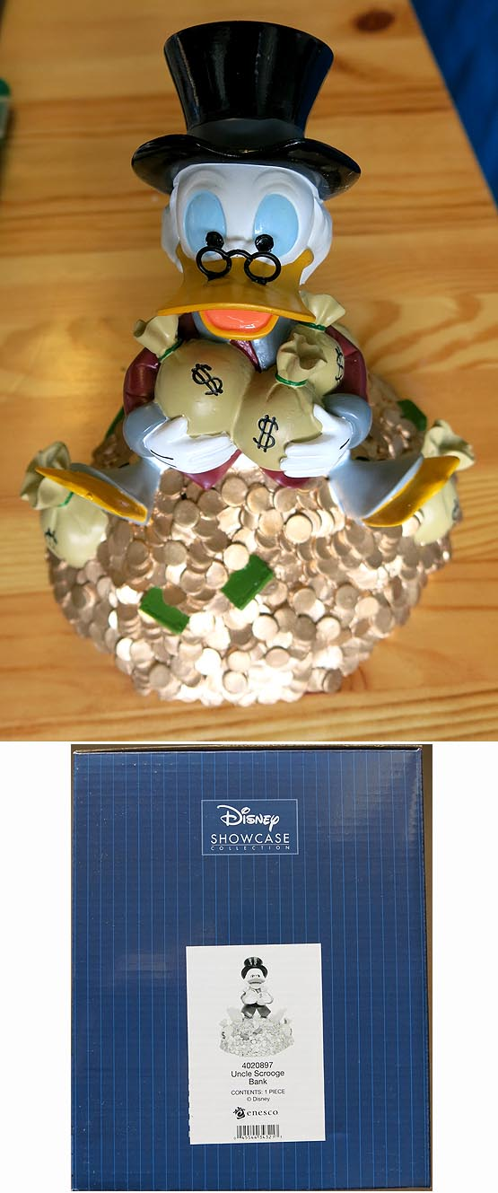Disney Showcase Uncle Scrooge Bank