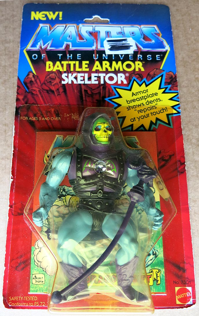MOTU 1984 Battle Armor Skeletor MOC 12 Back