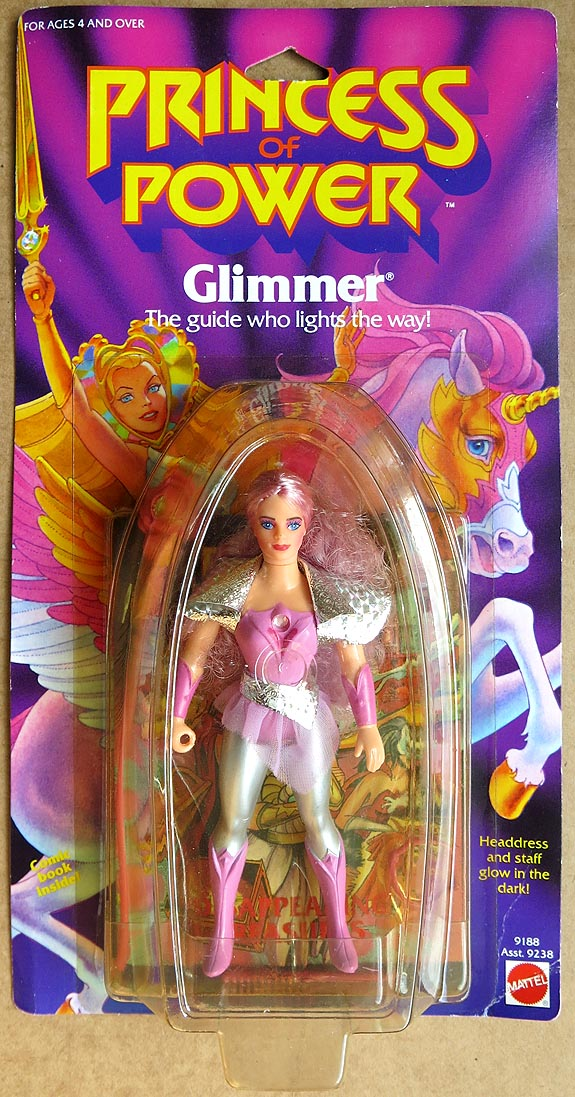 Princess Of Power 1984 Glimmer MOC