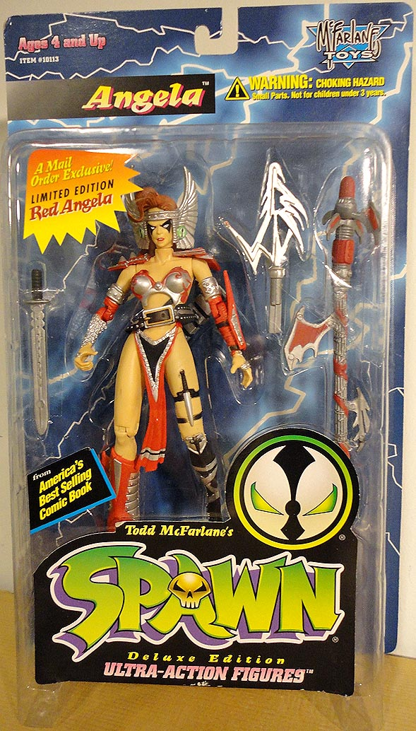 Spawn Series 2 Angela Mail Order Red Variant