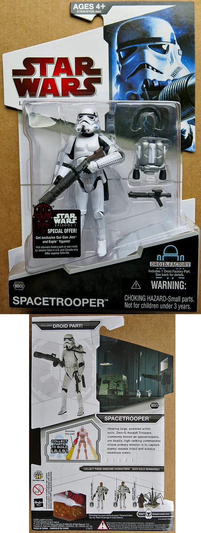 Star Wars Legacy Collection Spacetrooper BD 03