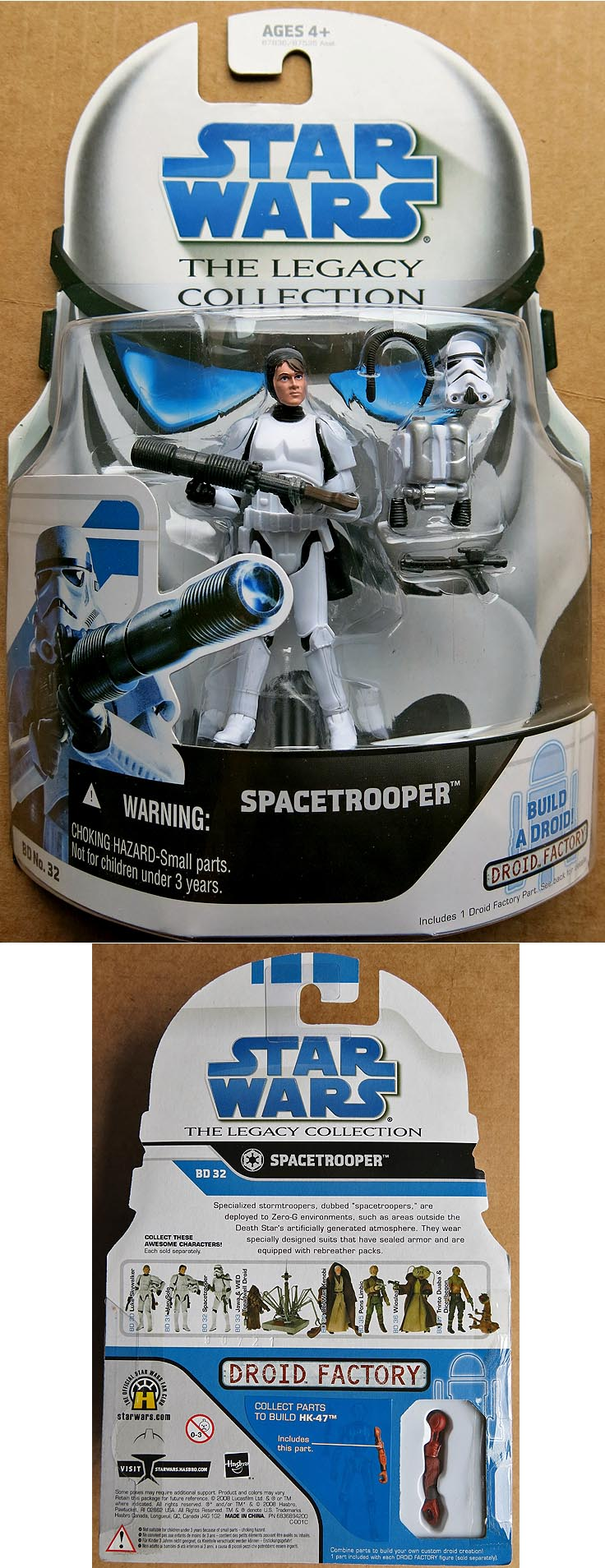 Star Wars The Legacy Collection Spacetrooper BD 32