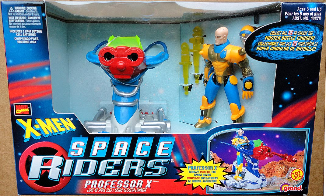 X-Men Space Riders Professor X with Space Sled