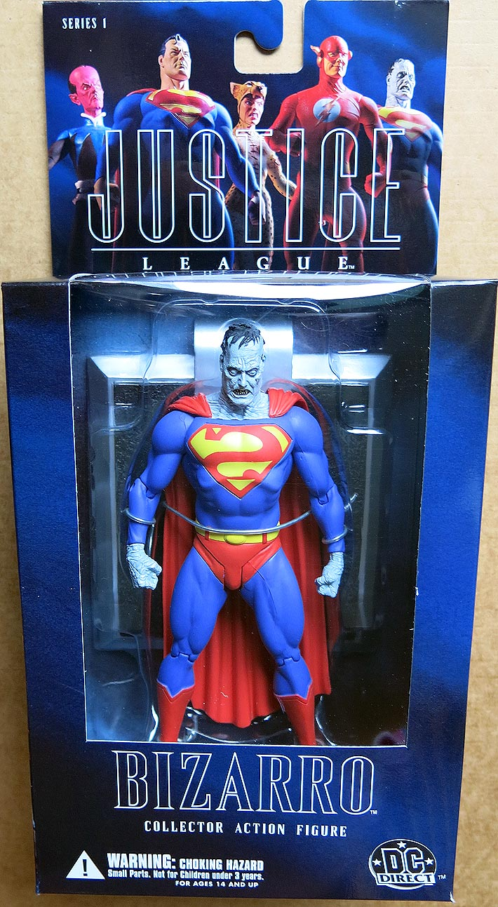 Alex Ross Justice League Series 1 Bizarro Action Figure