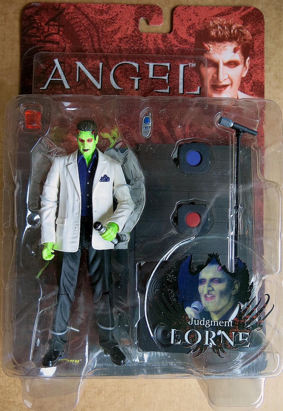 Angel Judgement Lorne Action Figure