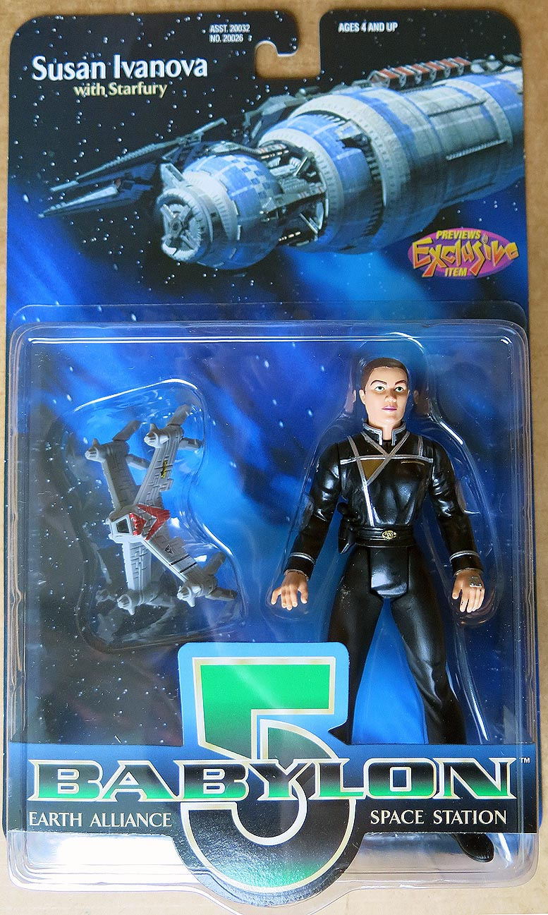 Babylon 5 Susan Ivanova Action Figure (Previews Exclusive)