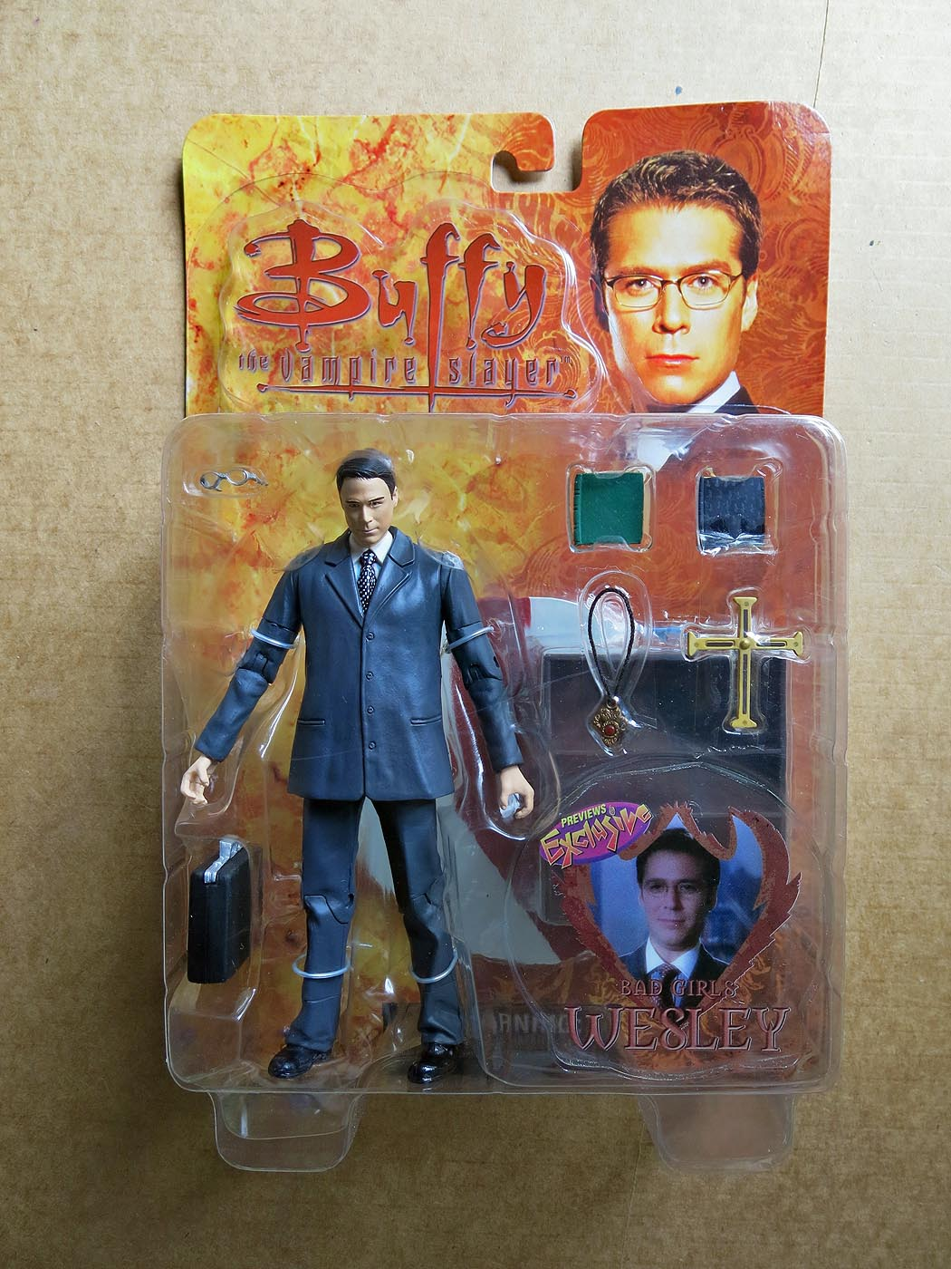 Buffy The Vampire Slayer Bad Girls Wesley Action Figure (Previews Exclusive)