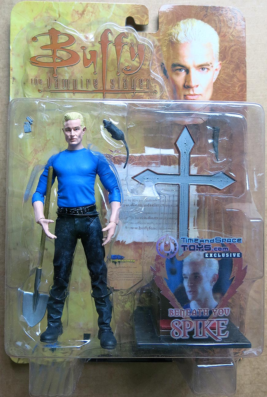 Buffy The Vampire Slayer Beneath You Spike Action Figure (Time And Space Toys Exclusive)