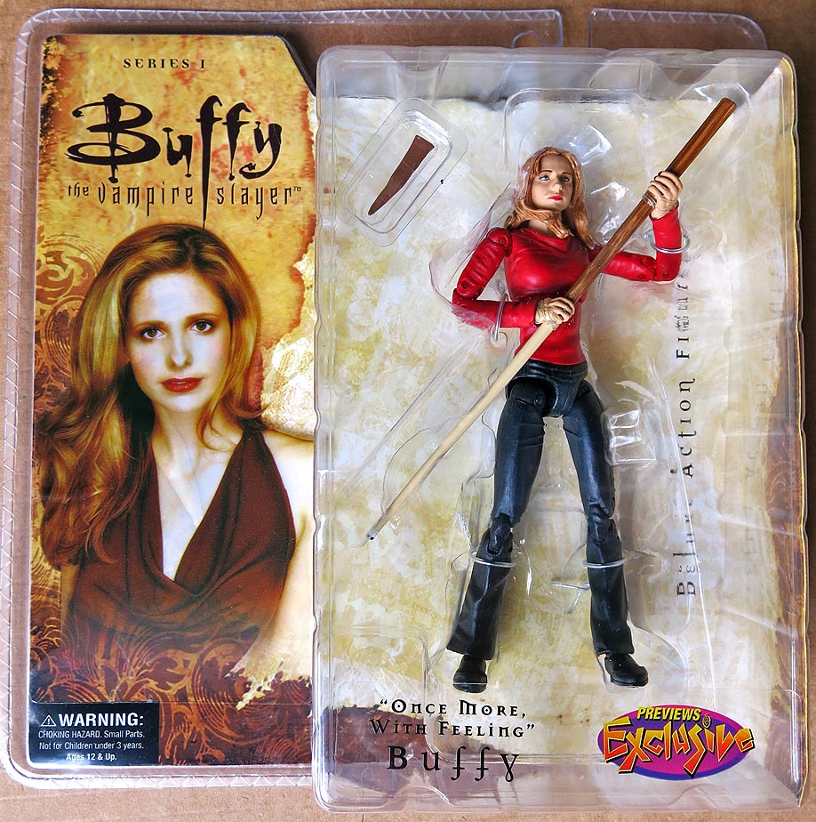 Buffy The Vampire Slayer Once More WIth Feeling Buffy Action Figure (Previews Exclusive)