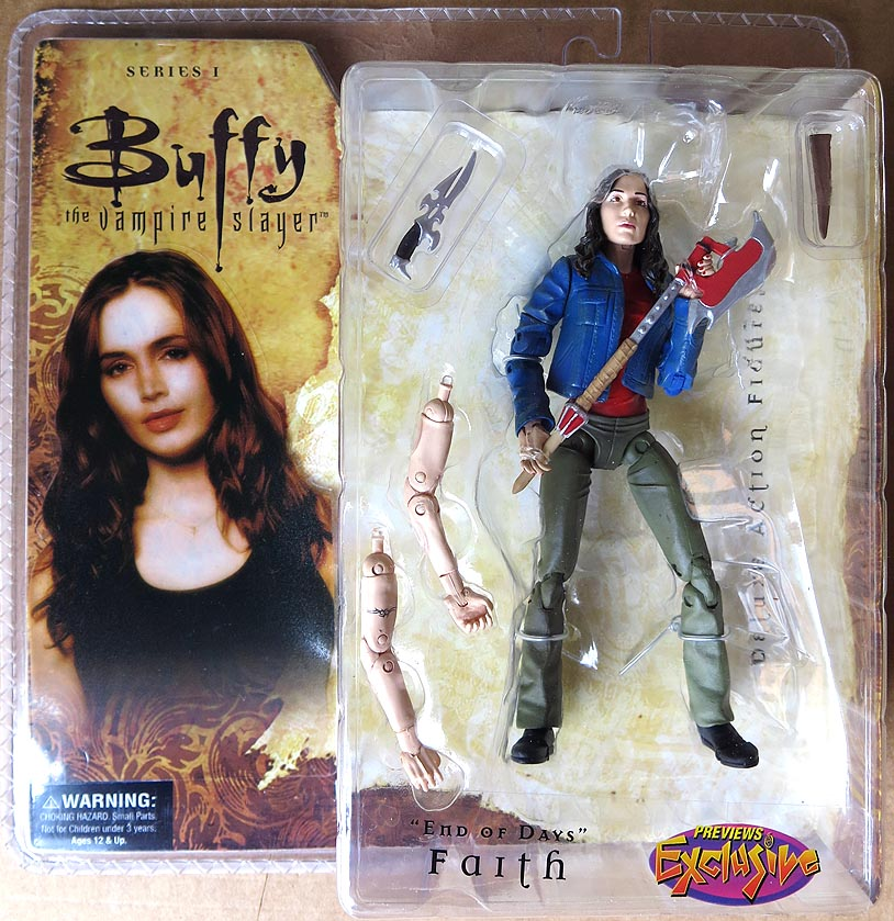 Buffy The Vampire Slayer S 1 End Of Days Faith Action Figure (Previews Exclusive)