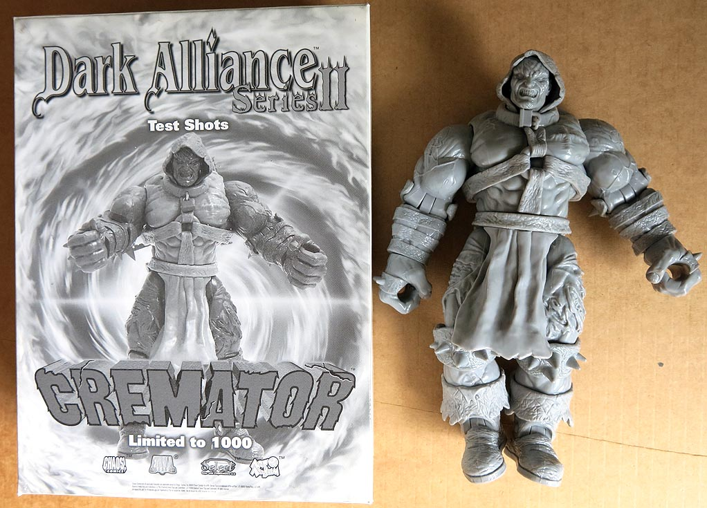 Chaos Dark Alliance Series II Test Shots Cremator ( 1 of 1000 )