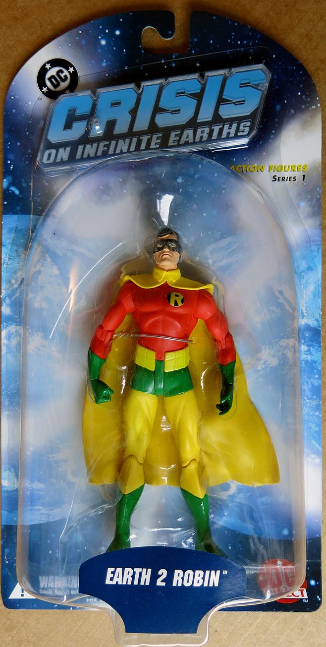 Crisis On Infinite Earths Series 1 Earth 2 Robin Action Figure