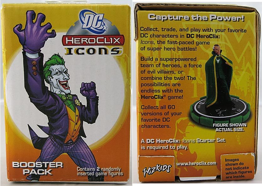 DC 2005 Heroclix Icons Booster 2 Figure Pack (bag 9 )