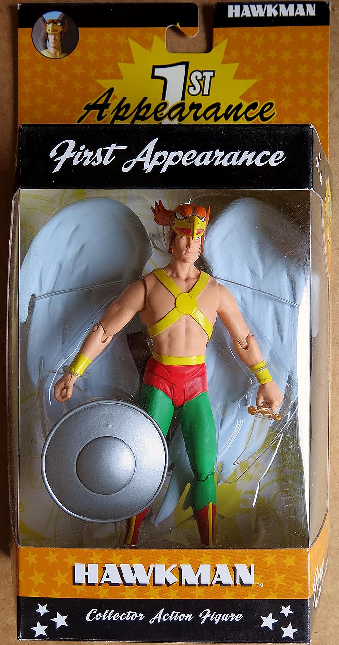 DC DIrect First Appearance Series 2 Hawkman Action Figure