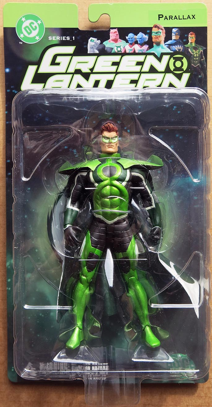 DC Direct Green Lantern Series 1 Parallax Action Figure