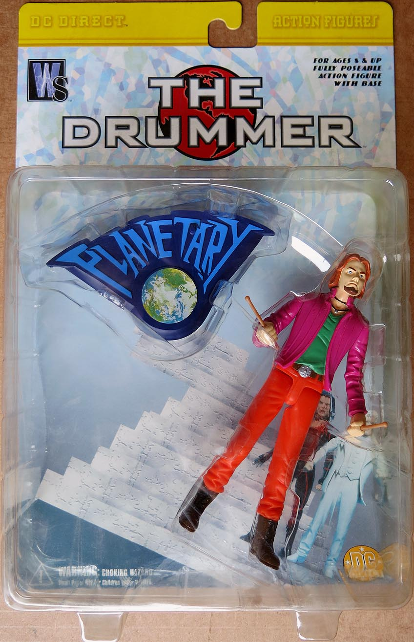 DC Direct Planetary The Drummer Action Figure