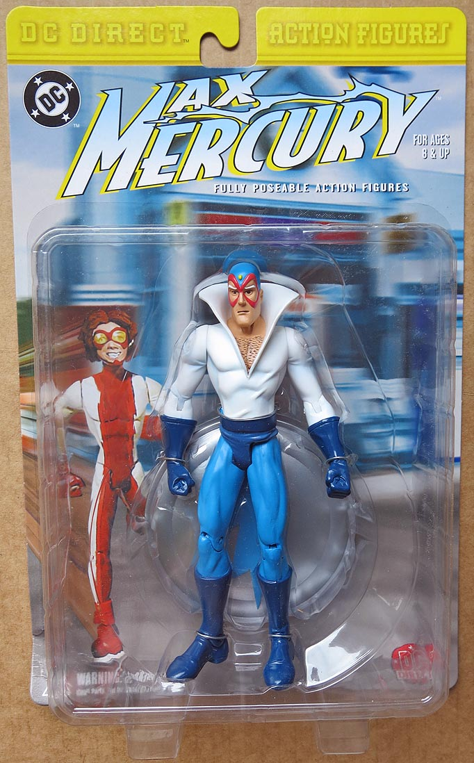 DC Direct Series 1 Max Mercury Action Figure