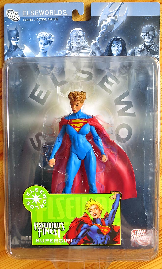 DC Elseworlds Series 3 Elseworlds Finest Supergirl
