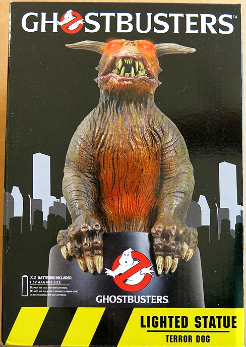 Ghostbusters Terror Dog Lighted Statue