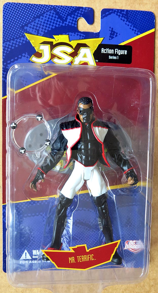JSA Action Figures Series 1 Mr Terrific