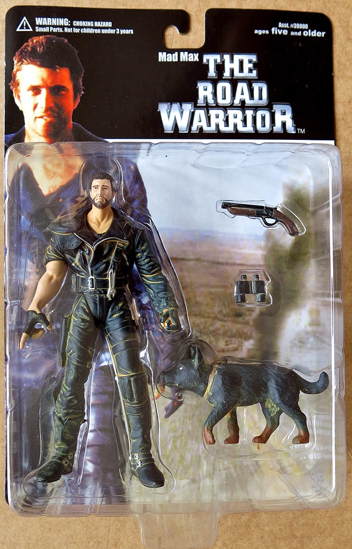 Mad Max The Road Warrior Series 1 Mad Max with Dog Action Figure