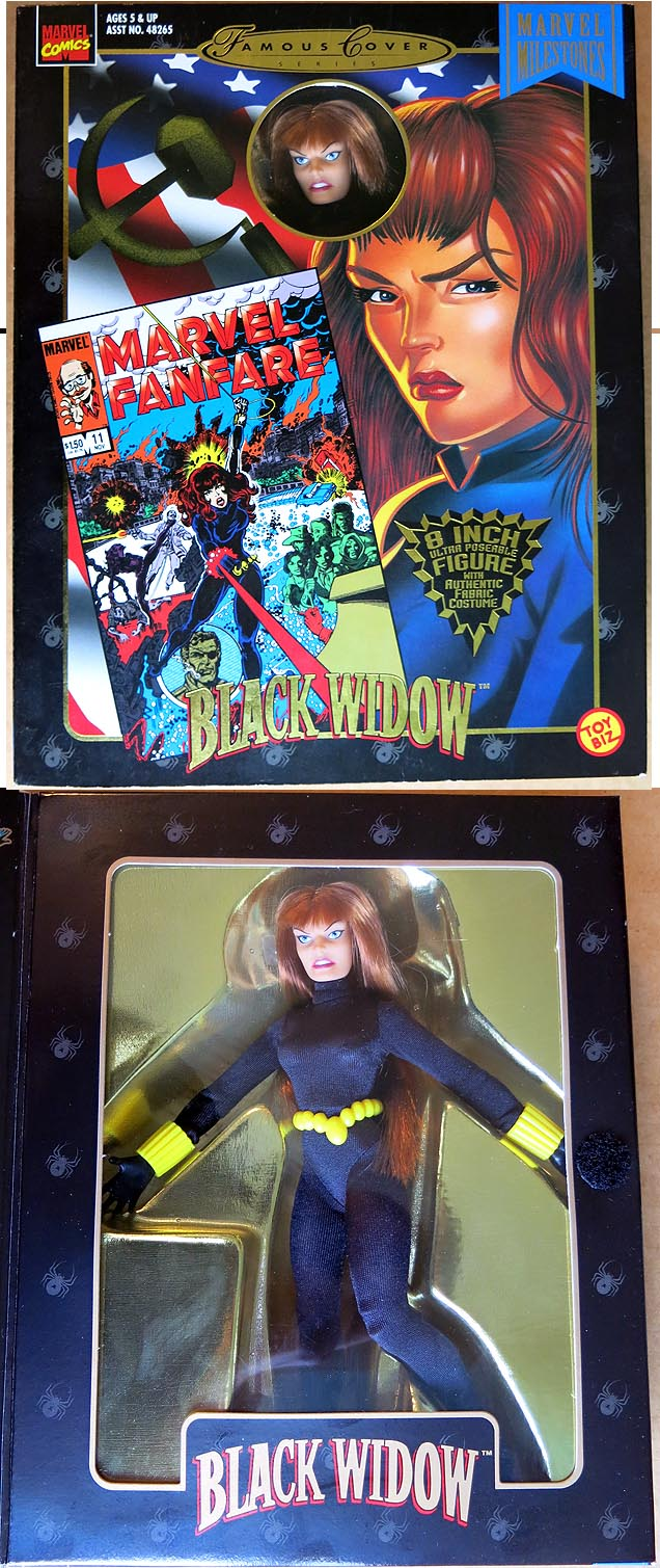 Marvel Famous Covers Black Widow Action Figure