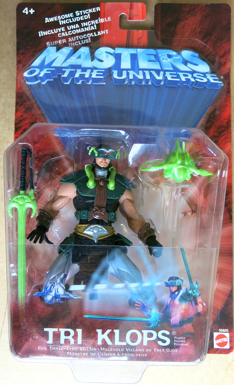 Masters Of The Universe 2002 Tri Klops Action Figure