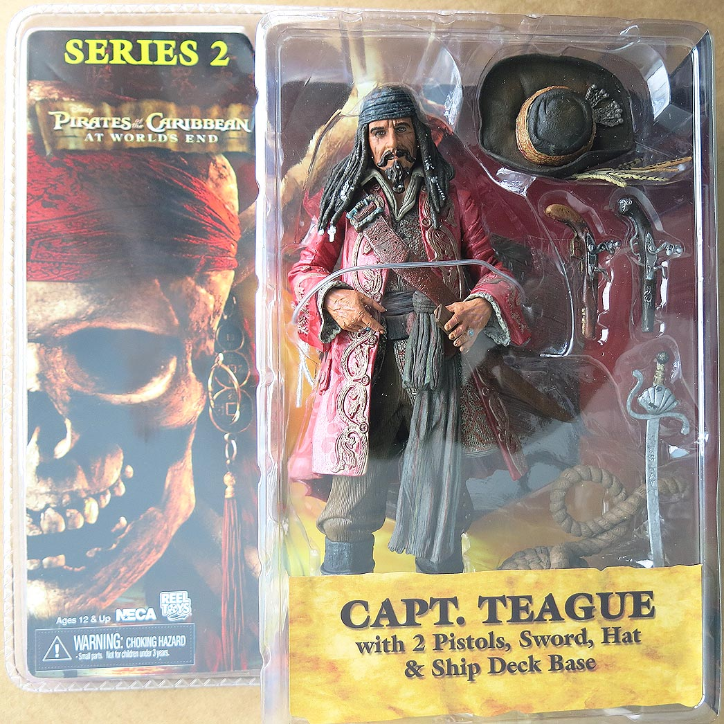 Pirates Of The Caribbean At Worlds End Series 2 Capt Teague