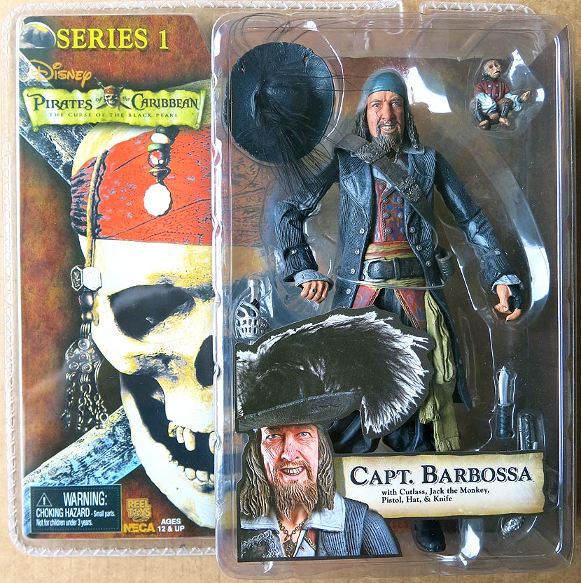 Pirates Of The Caribbean The Curse Of The Black Pearl Series 1 Capt Barbossa