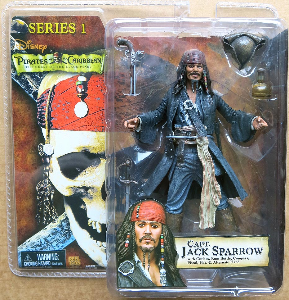 Pirates Of The Caribbean The Curse Of The Black Pearl Series 1 Capt Jack Sparrow