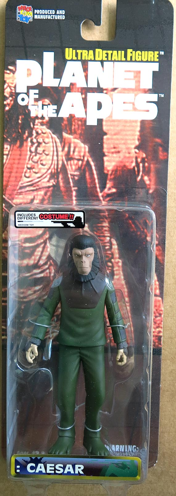 Planet Of The Apes Caesar (Costume Variant) Action Figure